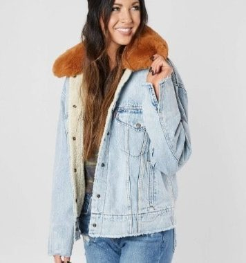 6 Buckle - Women Jacket - Denim | Promolily