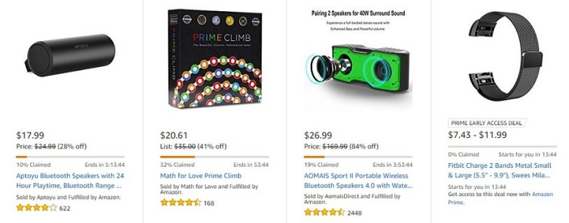 amazon lightning deals @ Promoliy